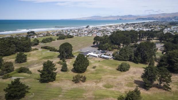 Rawhiti golf course and domain at New Brighton.