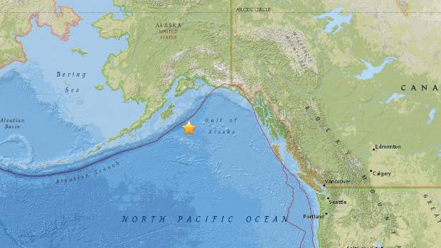 Tsunami warning for much Alaska coast follows quake