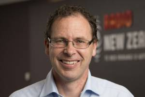 Paul Thompson, chief executive of Radio New Zealand, is not gunning for his commercial rivals.