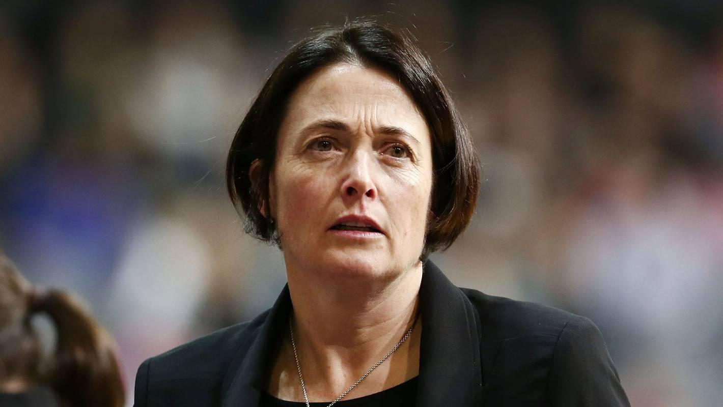 silver ferns coach janine southby takes criticism in her
