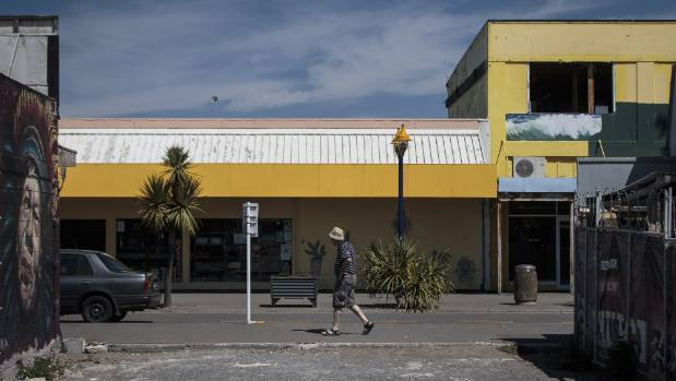 New zoning rules will concentrate commercial development at the beach end of New Brighton's mall.