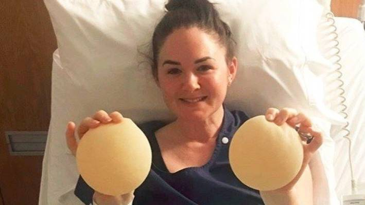 Breast augmentation after they were taken out