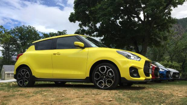 turbocharging helps make suzuki 39 s swift sport hot hatch. Black Bedroom Furniture Sets. Home Design Ideas