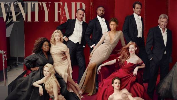 Can you spot Oprah's three hands on Vanity Fair cover?