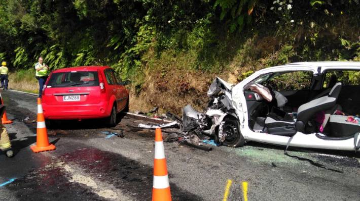 Police officer asks injured crash victim 'why are all the