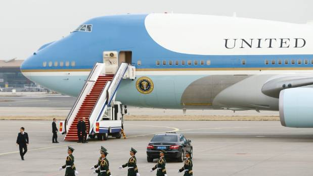 The US Air Force are replacing two of the five chiller units on the plane currently used by President Donald Trump
