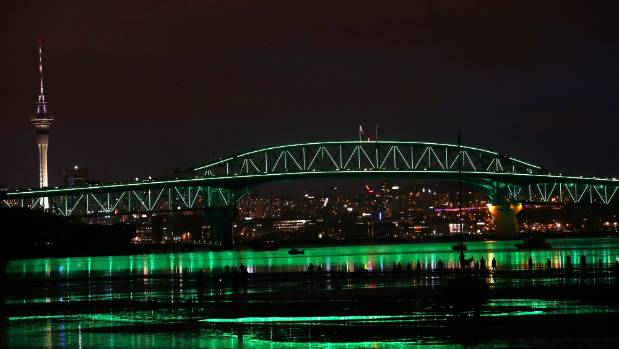 auckland s night sky comes alive in light and sound extravaganza