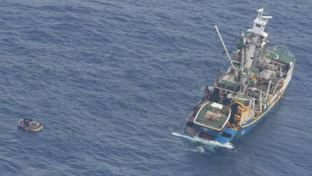 Liferaft hope for survivors of 'unseaworthy' Kiribati ferry tragedy
