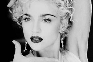 Madonna, voguing in the 80s.