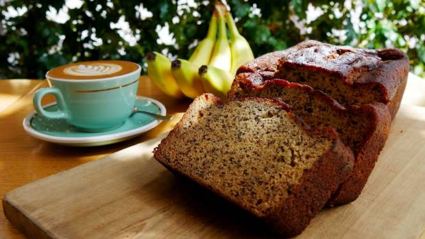 Recipe banana loaf from mojo coffee stuff mojo coffees banana loaf is light and fluffy forumfinder Image collections