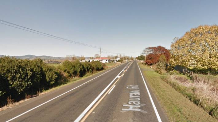 Couple on Triumph injured after bike hits cattle on Waikato