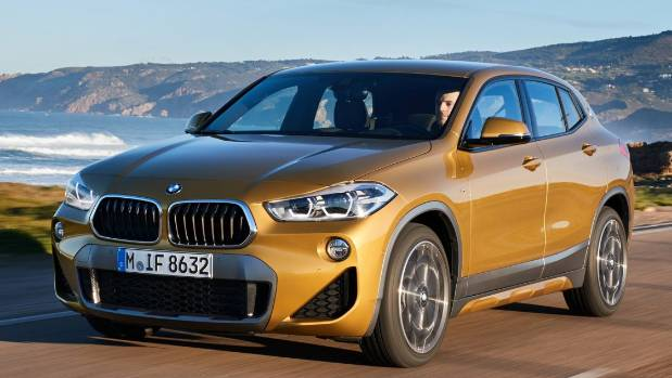 It's an XI (and therefore also a Mini) underneath, but X2 puts new spin on BMW's SUV-coupe styling.