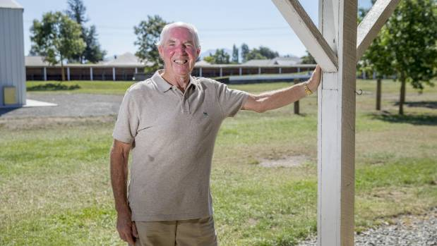 Farmers Market chairman Neville White has helped turn the weekly event into one of the biggest in the area.
