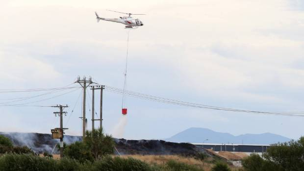 New Zealand firefighters battle ravaging multiple fires in south island