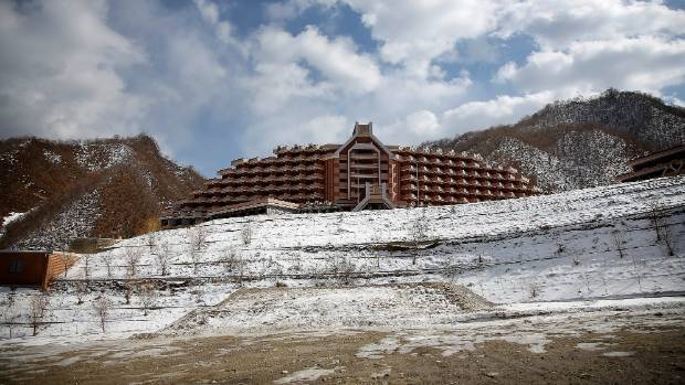Want to visit the Masik Pass Ski Resort in Wonsan, North Korea? Get on a tour.