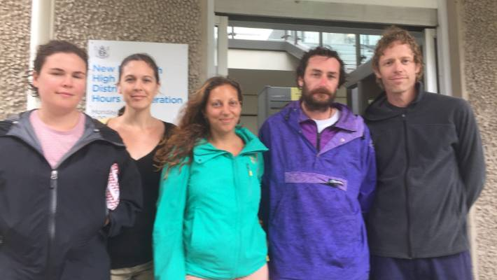 Greenpeace protesters 'pretty stoked' with delaying Amazon Warrior's