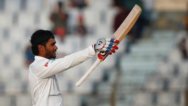 Mominul's unbeaten 175 flattens Sri Lanka