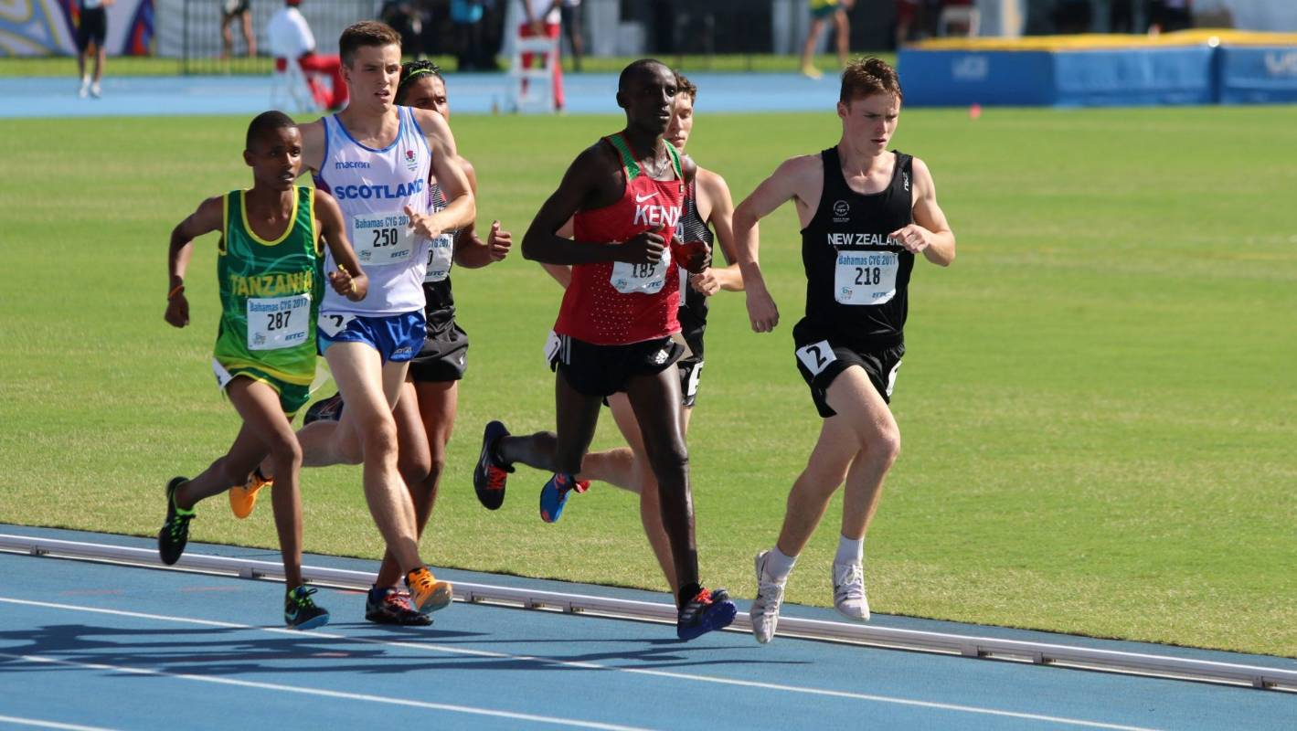 Hamilton athlete Isaiah Priddey breaks 28-year-old track