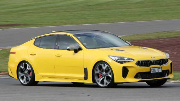 sport cars with names. kia stinger is old-school with its rear-drive layout. and cool sport cars names