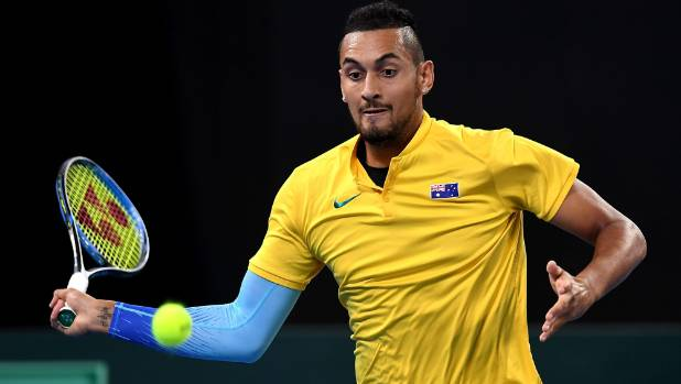 Australia out of Davis Cup after Nick Kyrgios loses to Alexander Zverev