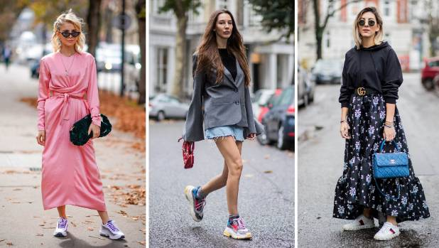 Sneakers Kick Handbags Off Top Fashion Spot Stuff Co Nz