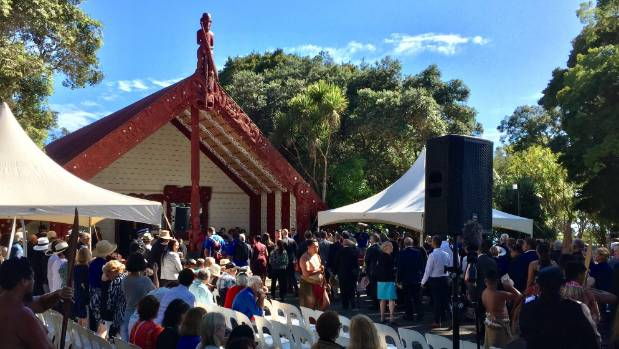 Jacinda Ardern attends Waitangi Day Dawn Service as celebrations kick-off