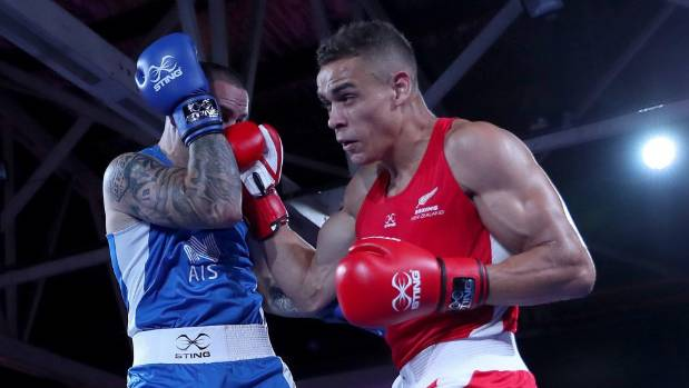 The Hamilton heavyweight fought in Paris last weekend for the British Lionhearts in the World Series of Boxing
