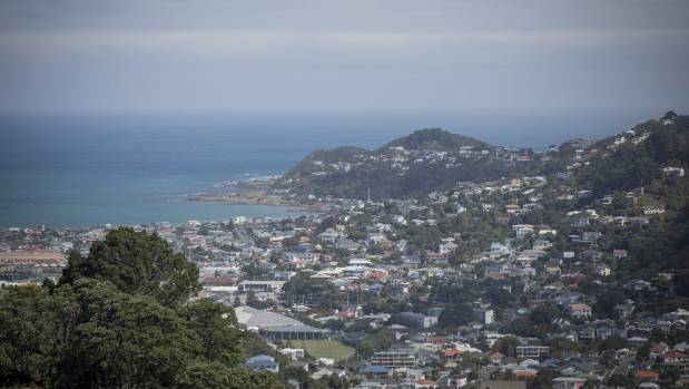 The idea of having a bridge or a tunnel between Wellington, pictured, and the South Island was raised seriously just ...