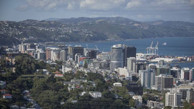 Looking towards Wellington city - the starting point for a tunnel or bridge?