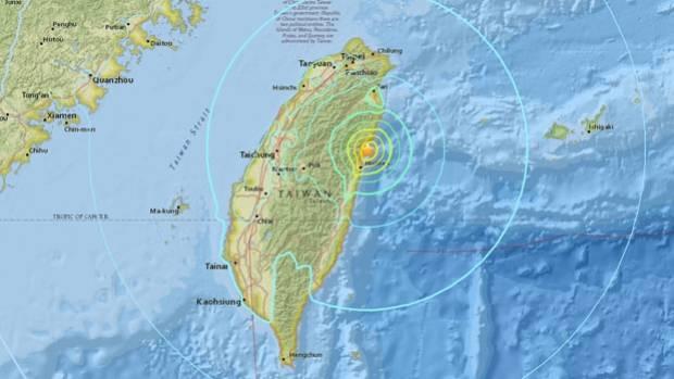 4-magnitude quake strikes Taiwan: At least 2 dead, 144 injured