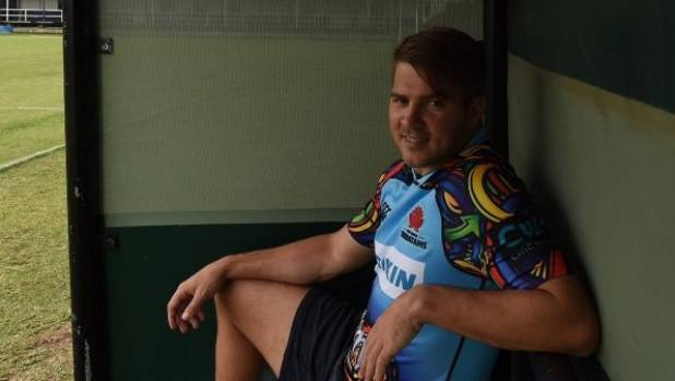 Former Wallabies wing Drew Mitchell is back in Australia playing rugby, at the Tens, after a long stint in France.