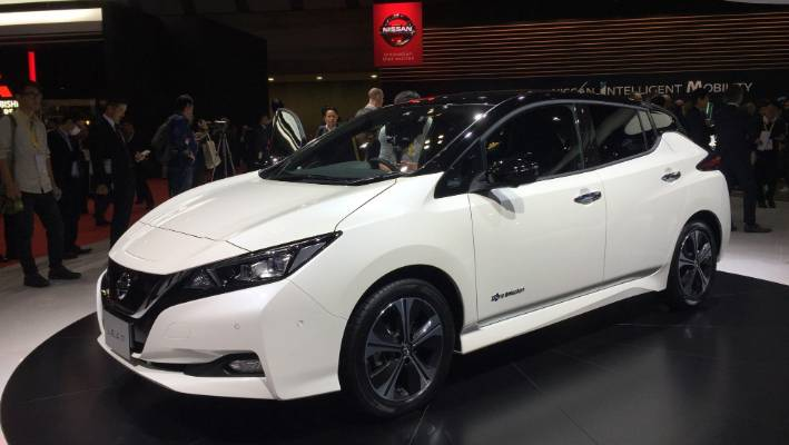 Nissan S New Generation Leaf Electric Vehicle Is To Be Sold In Zealand
