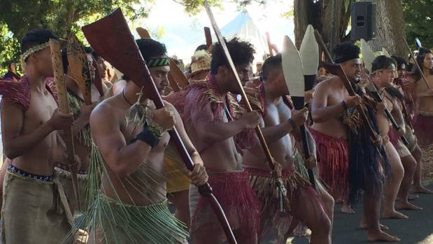 Jacinda Ardern delivers Waitangi speech