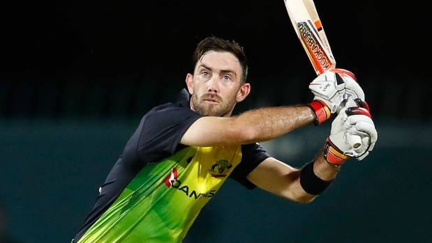 Maxwell hundred leads Australia's cruise to 156