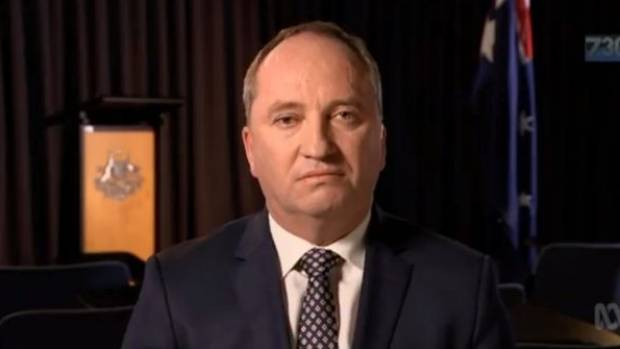 Barnaby Joyce Is Expecting A Baby With His Former Staffer