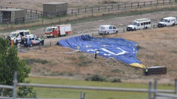 Australian hot air balloon crash leaves six people injured