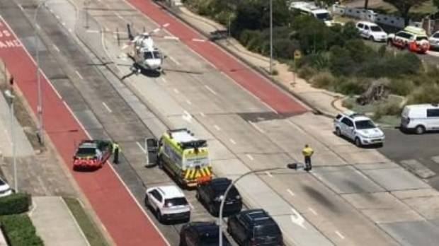 Woman dies after struck by garbage truck, NSW