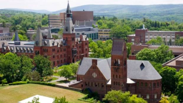 Cornell fraternity punished over sex contest called 'Pig Roast'