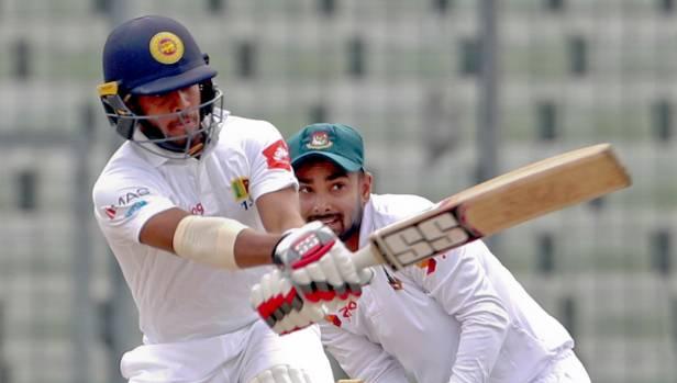Sri Lanka stretch lead to 312 to take control of Dhaka Test