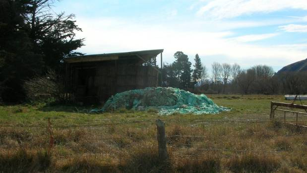 Farm waste can create an environmental hazard if not disposed of properly.
