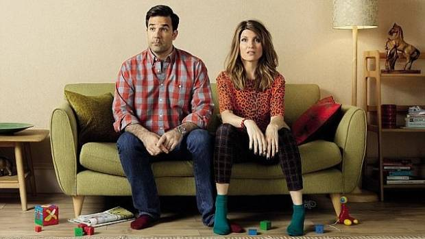 Delaney stars as Rob in the comedy Catastrophe alongside Sharon Horgan the two write and starred in the show together