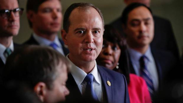 Adam Schiff said the House Intelligence Committee's Democrats would continue aspects of the investigation