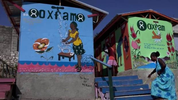 Oxfam pressed over allegations senior aid staff used prostitutes in Haiti