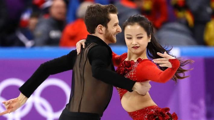 South Korean Ice Dancer Shrugs Off Wardrobe Malfunction To