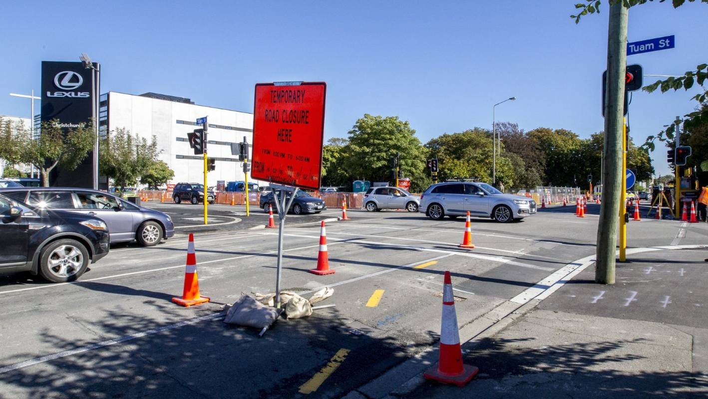 Christchurch Central News: Three Busy Central Christchurch Intersections To Be