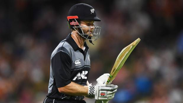 Kane Williamson in doubt for tomorrow's Black Caps T20 match against England