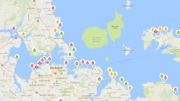 Auckland World Map