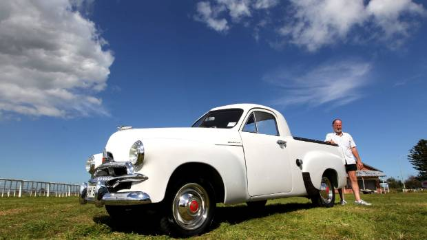 Holden was soon in on the act. Pictured is a 1954 FJ ute, which was massively popular during its career.