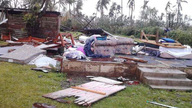 Cyclone Gita: Tonga's Parliament flattened as category four storm lashes country