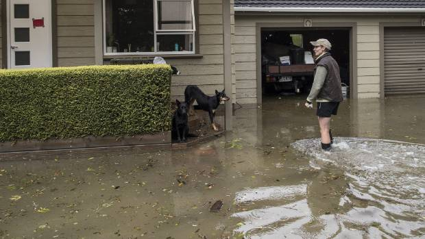 Paula Dobbs' home on Snodgrass Rd, north of Westport, was flooded when ex-tropical cyclone Fehi smashed into the West ...